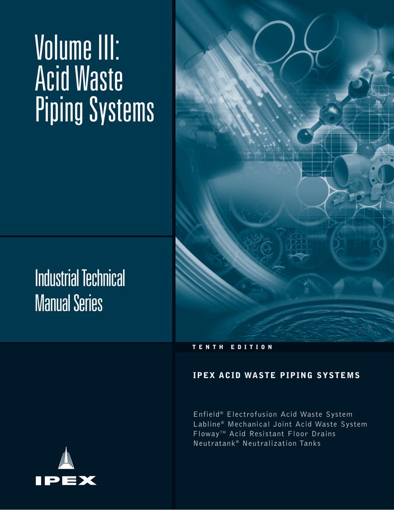 IPEX Acid Waste Technical Manual | manualzz com