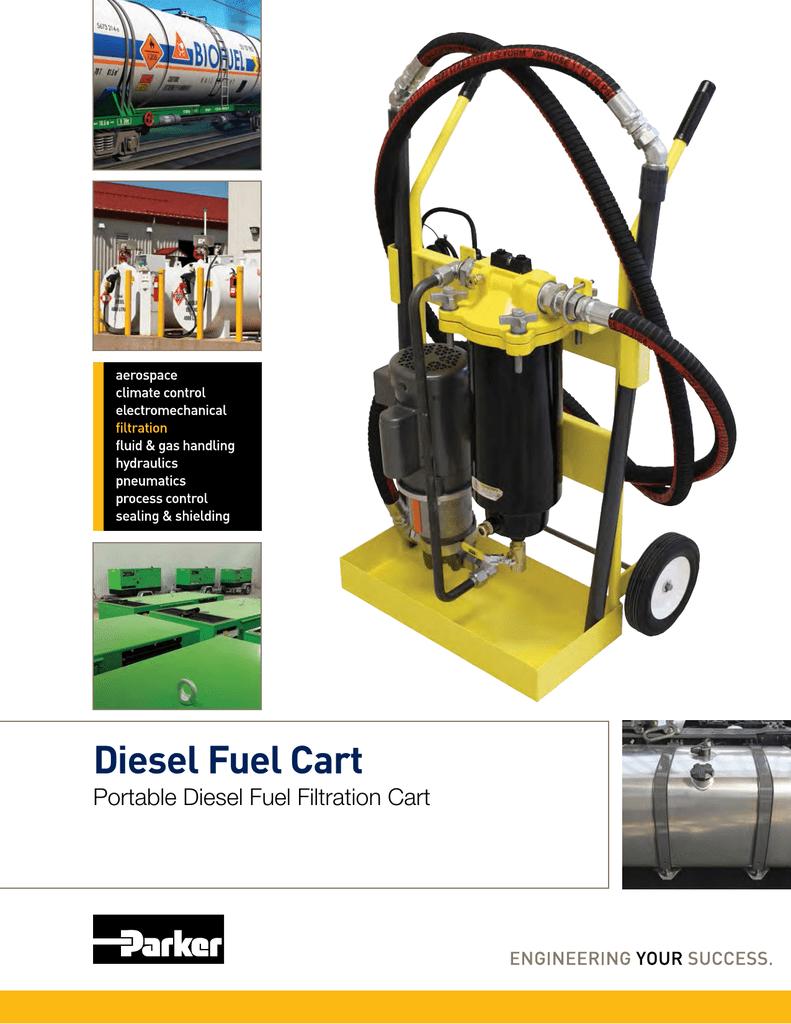 Diesel Fuel Cart Parker Marine Filter