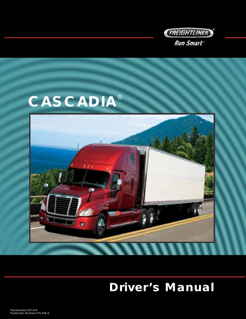 Cascadia Driver`s Manual | manualzz com