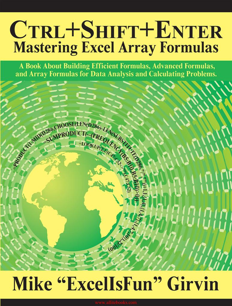 Ctrl+Shift+Enter Mastering Excel Array Formulas A   Manualzz