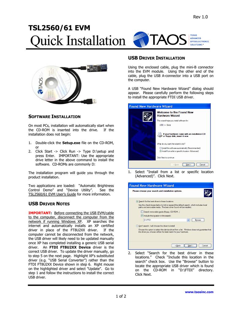 Quick Installation | manualzz com