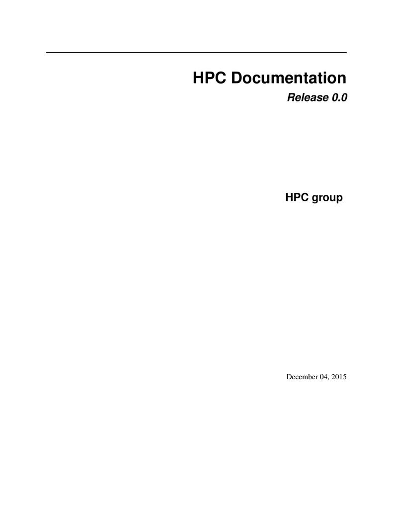 slurm PDF - Read the Docs | manualzz com