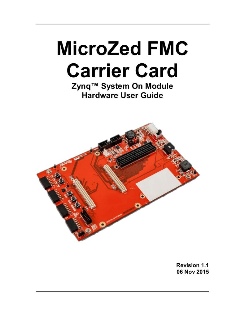 microzed fmc carrier card hardware user guide manualzz com rh manualzz com