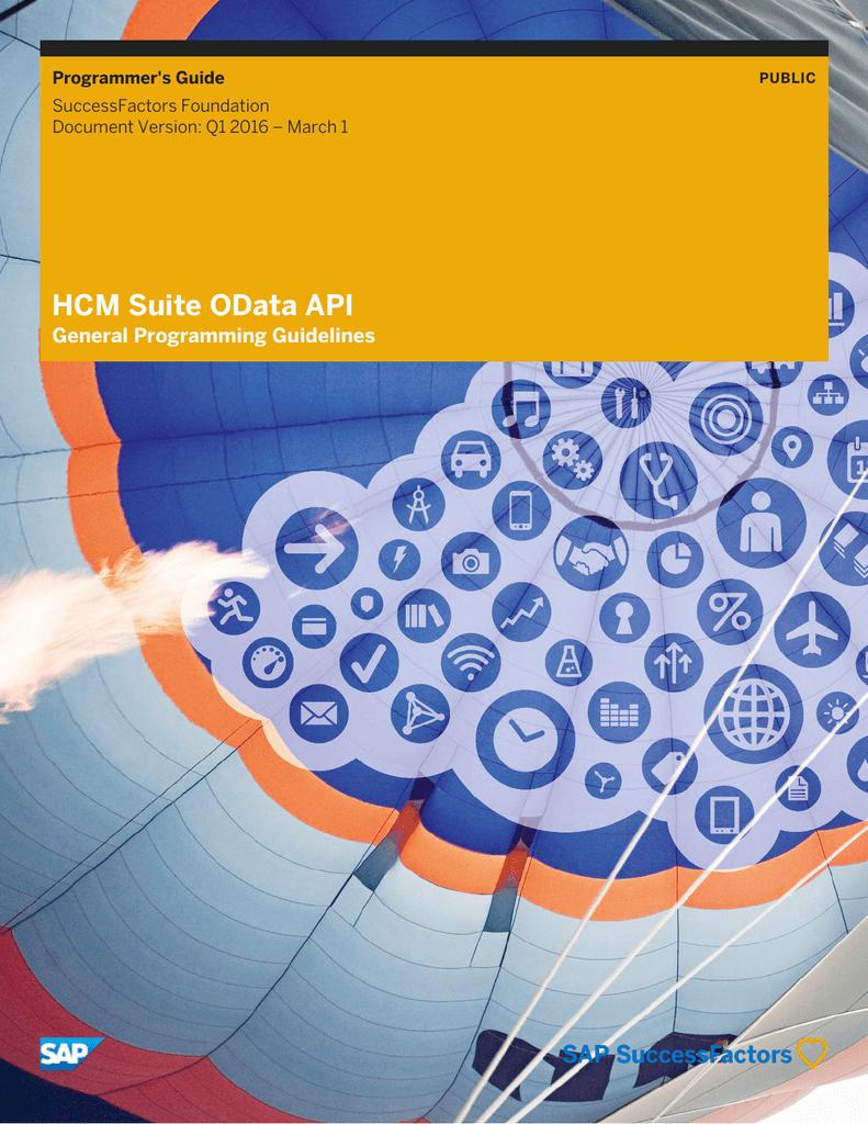 HCM Suite OData API | manualzz com