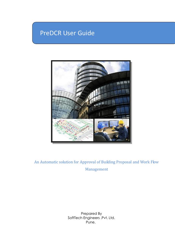 PreDCR help manuals AutoCAD  - The Municipal Corporation of