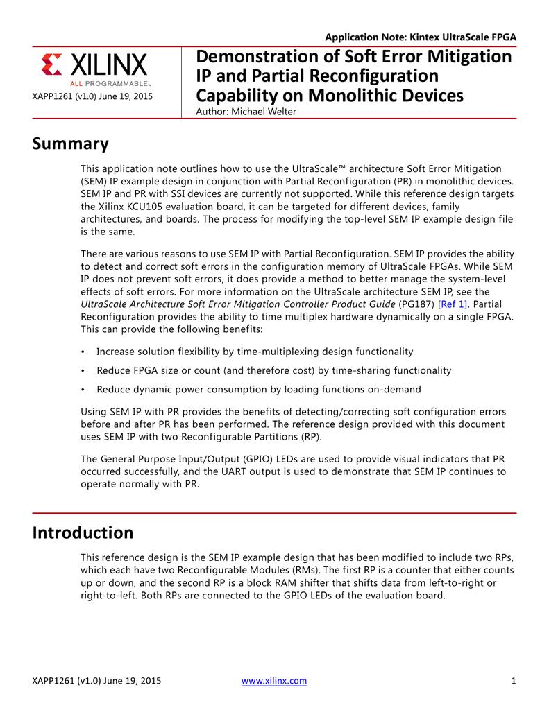 XAPP1261 | manualzz com