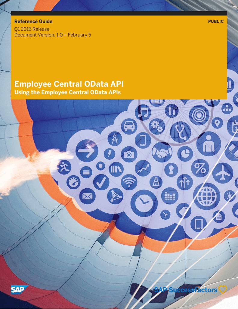 Employee Central OData API | manualzz com