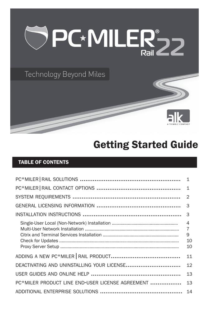pc miller user manual