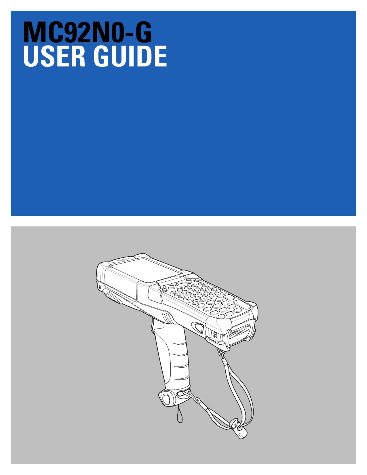 MC92N0-G User Guide - Motorola Solutions | manualzz com