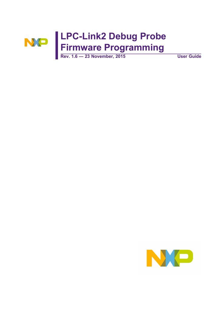 LPC-Link2 Debug Probe Firmware Programming | manualzz com