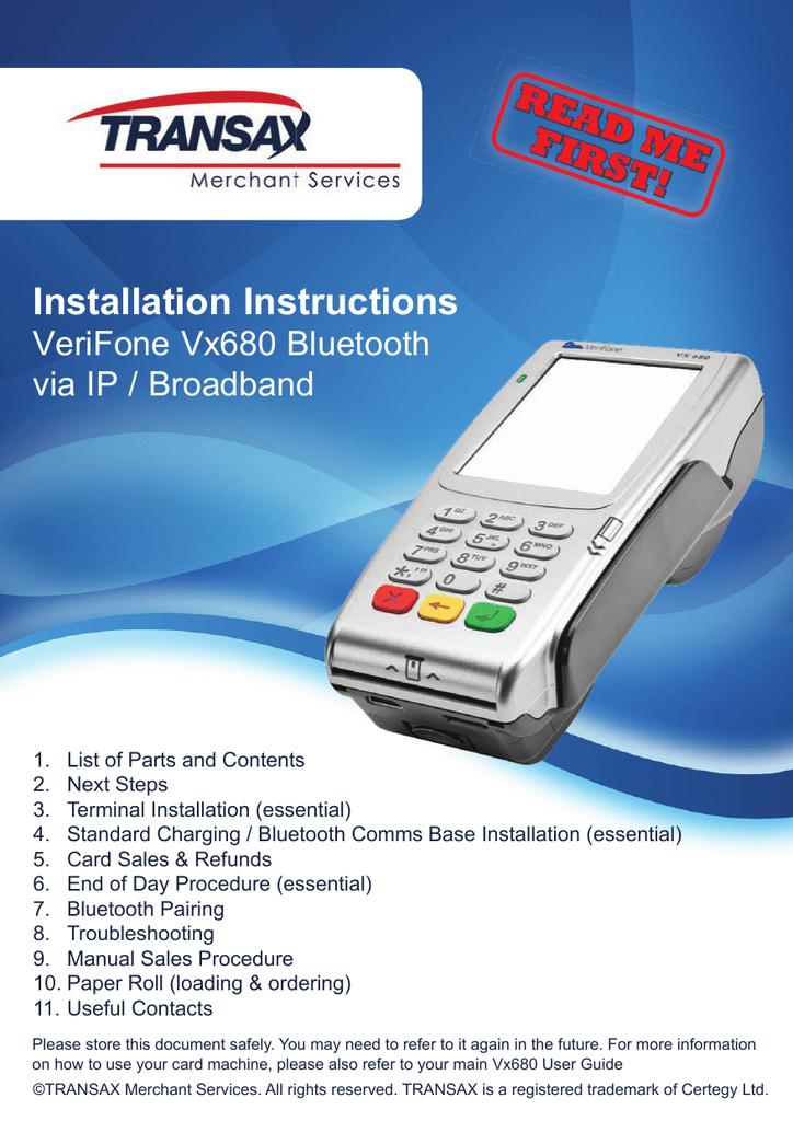 vx680 bt ip read me first installation guide rh manualzz com