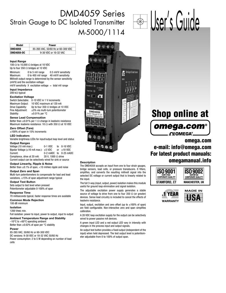 Omega Dmd4059 Wiring Diagram Free Download 1974 Oldsmobile Series Engineering Manualzz Com