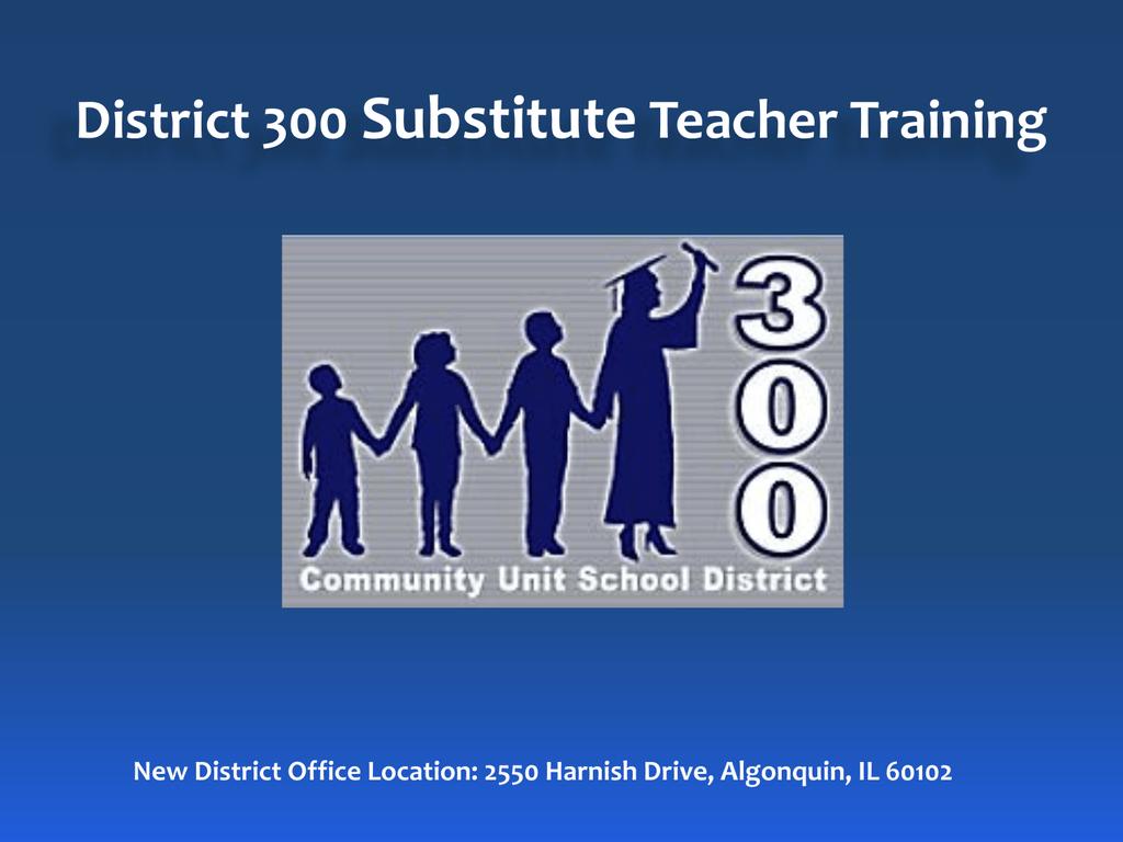 D300 Paraeducator Substitute Training Materials 2015 | manualzz com