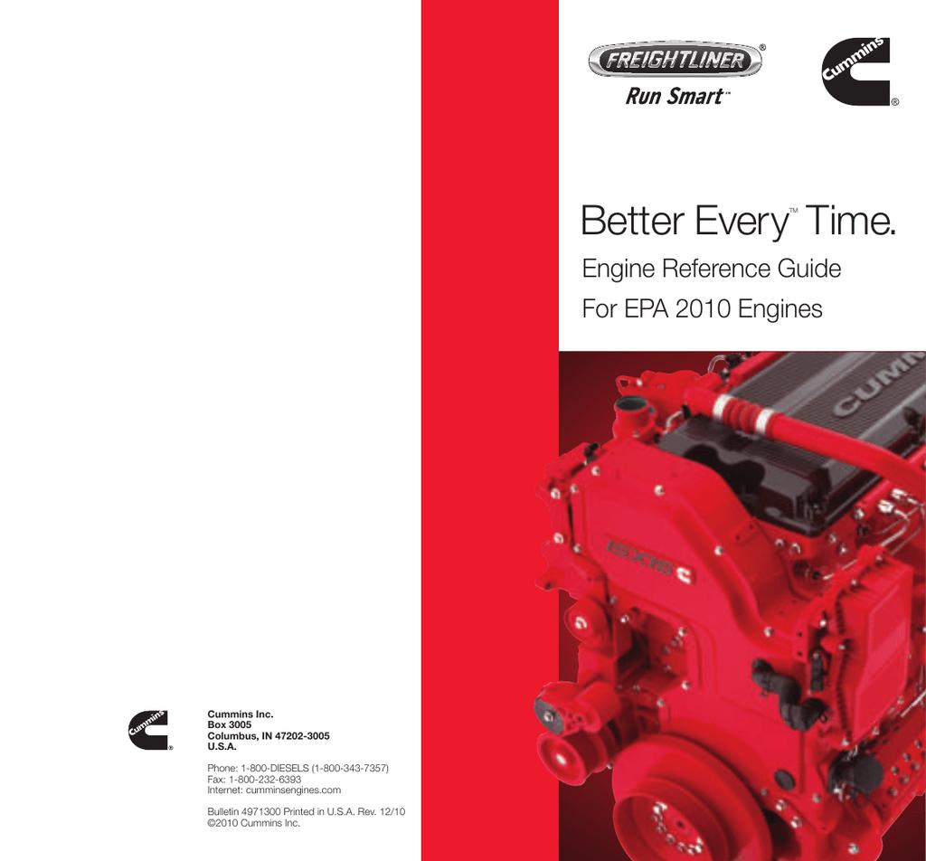 Cummins Engine Reference Guide | manualzz com