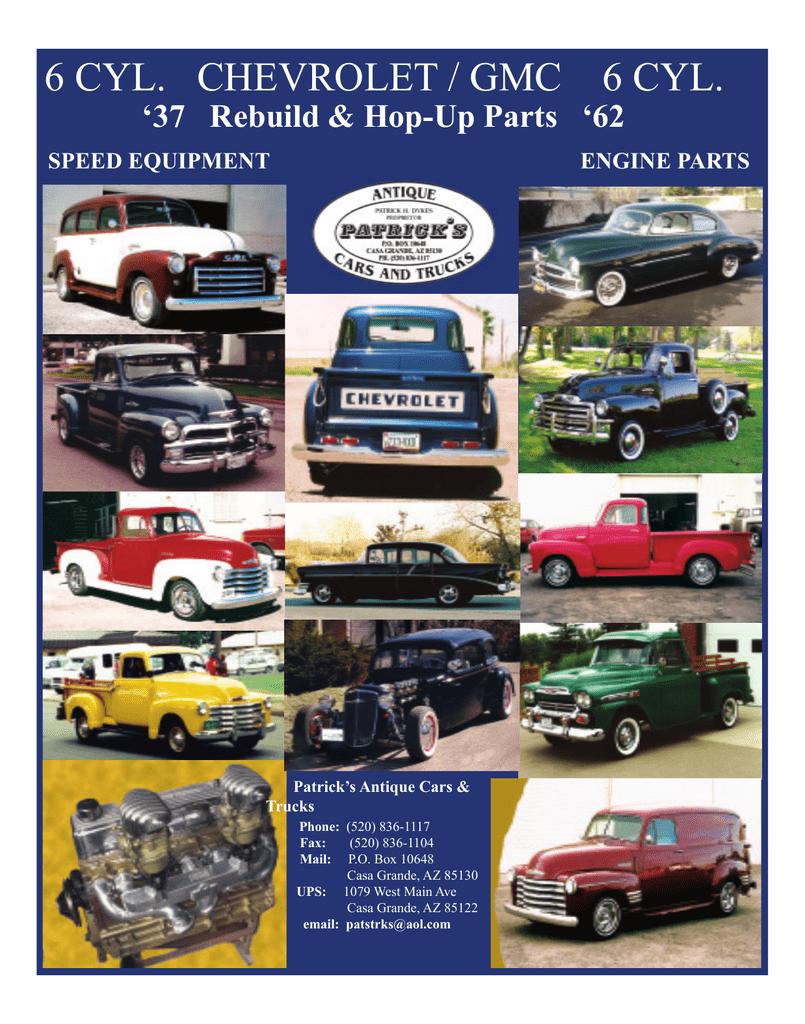 Chevrolet / GMC Auto Parts Catalog | manualzz com