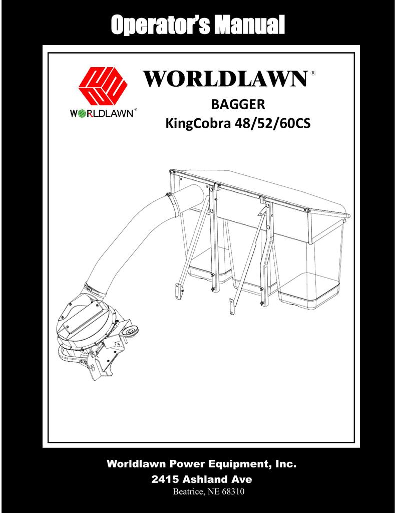 ... operator`s manual worldlawn power equipment, inc manualzz com World  Lawn Cobra 6.0 Diagram