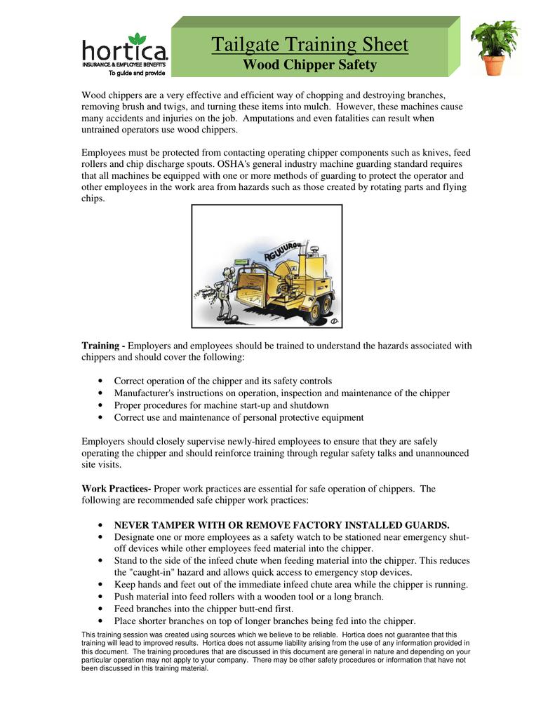 Pmg Tailgate Training Manual Guide