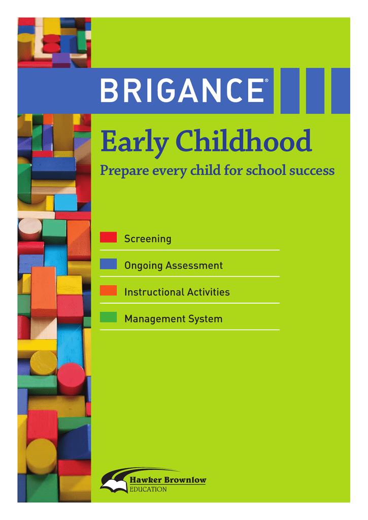 brigance early childhood hawker brownlow education manualzz com rh manualzz com Brigance Basic Skills Brigance Basic Skills