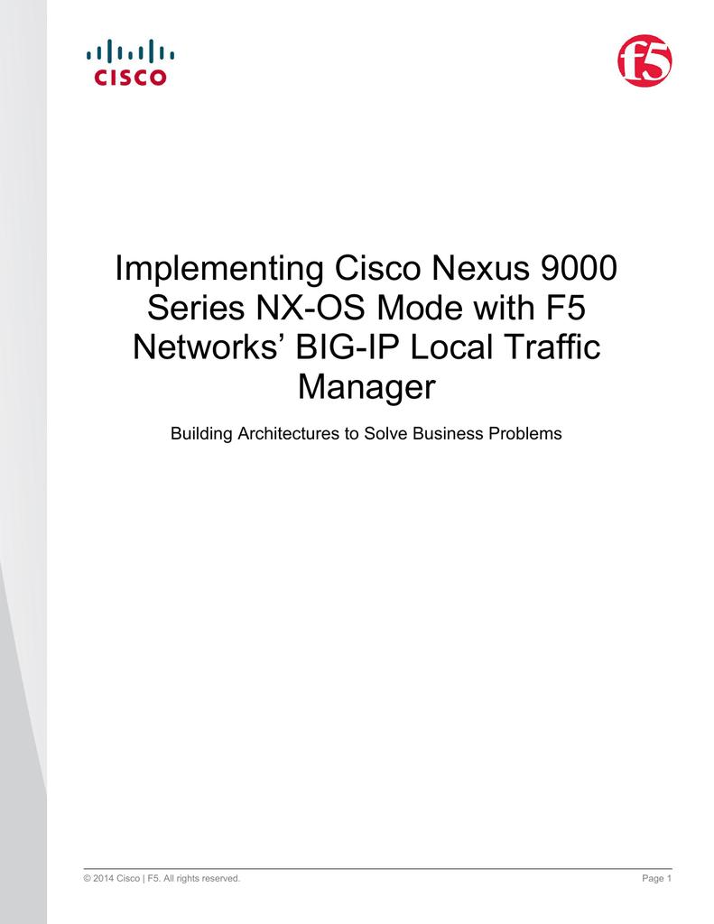 Enable Http On Cisco Nexus 9000