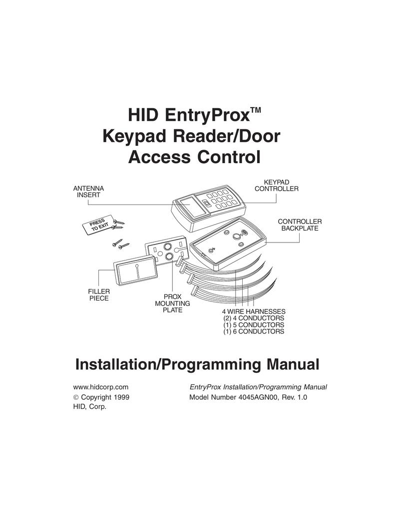 ENTRYPROX_II.pdf | Manualzz