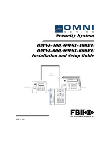 FBII OMNI-600 EU Installation And Setup Manual | Manualzz
