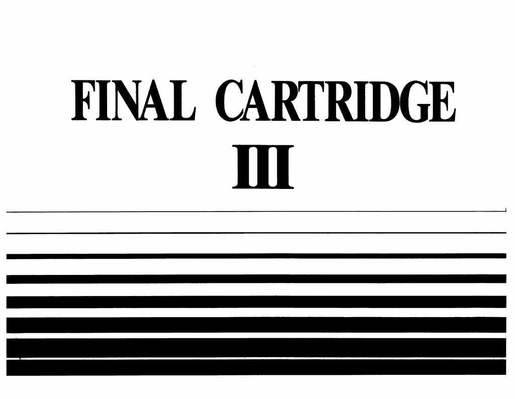 Final Cartridge III english Manual with Supplement.pdf | Manualzz