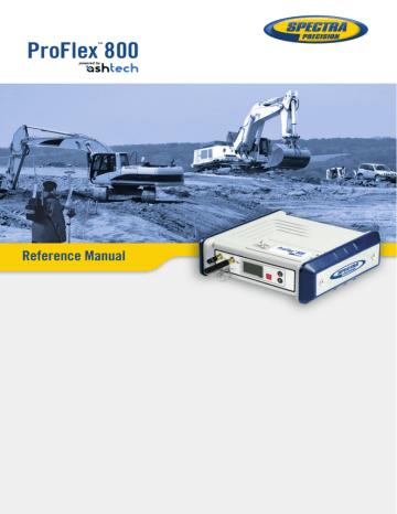 ProFlex800_ReferenceManual_en_B.pdf | Manualzz