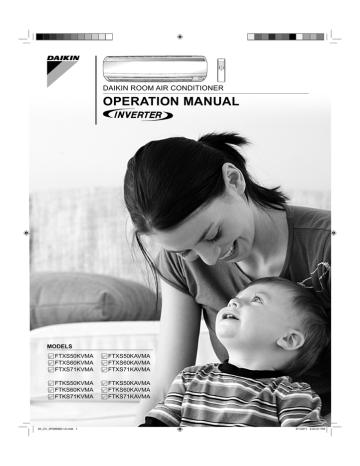 FTXS50-71KAVMA-OPERATION-MANUAL-01 EN 3P266960-1A.pdf | Manualzz
