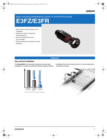 Cam bien quang Omron dong E3FZ_ catalogue.pdf   Manualzz