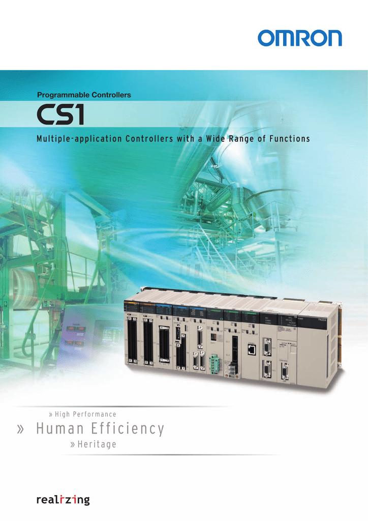 PLC Omron CS1H Series_Catalog.pdf | Manualzz