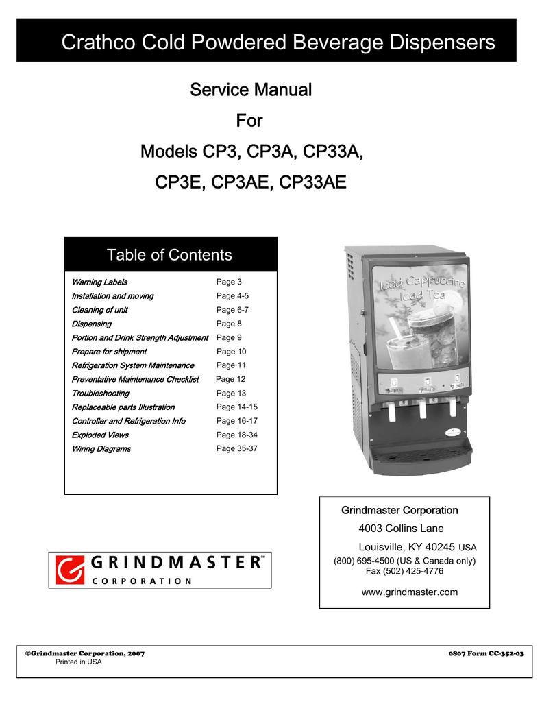 GRINDMASTER 61116-01 Motor Whipper 120 Volt Alternating Current