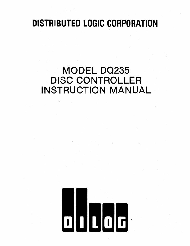 2120-0085_DQ235_SMD_RK06_RK07_Controller_Jan86.pdf   Manualzz