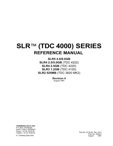 430508_TDC_4000_Series_Reference_manual_Aug97.pdf | Manualzz