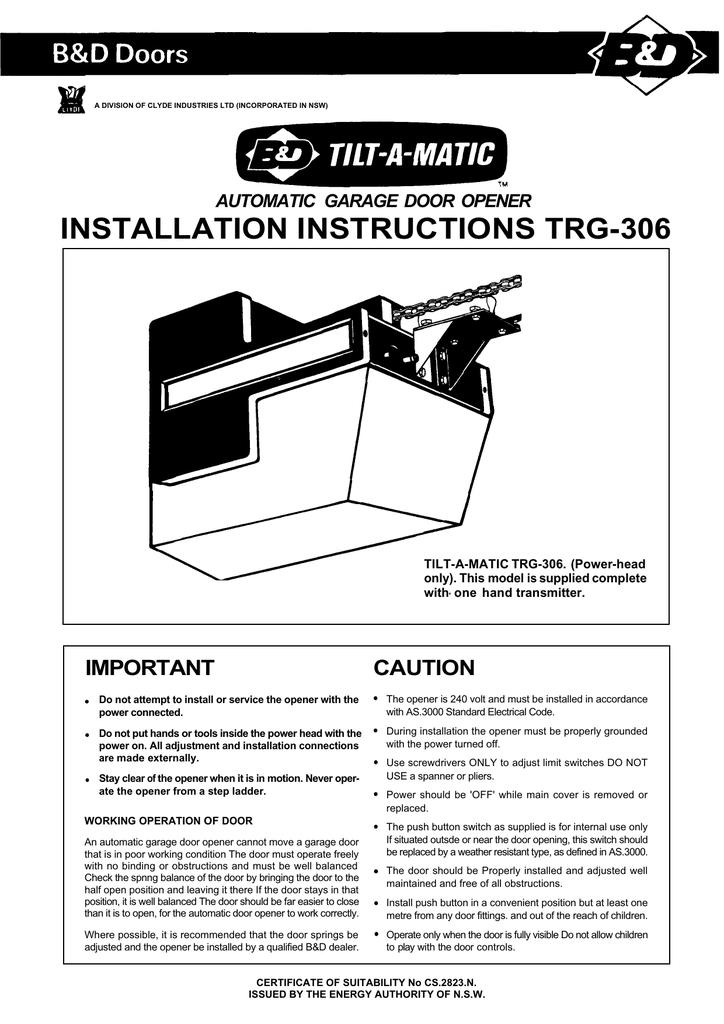 Omega Matic Garage Door Opener Manual Dandk Organizer