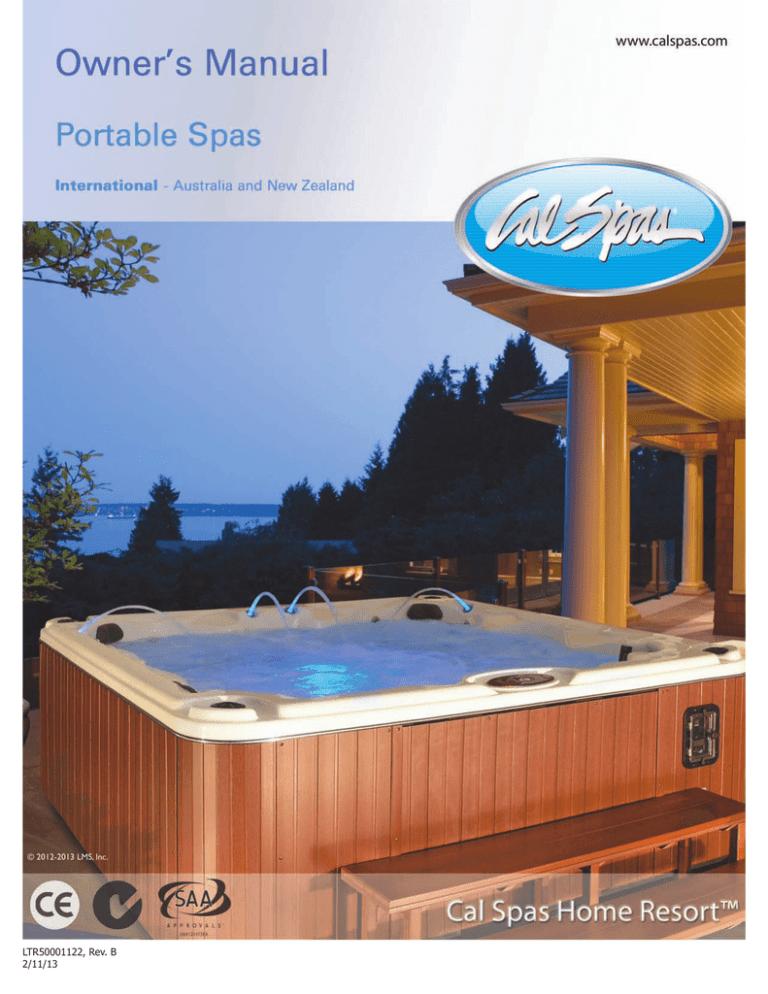 Cal Spas Portable Spa Owner S Manual, Cal Spa Wiring Diagram