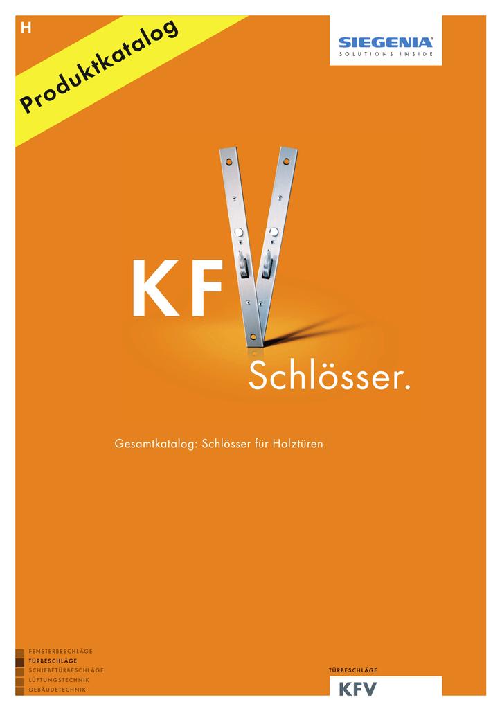 KFV Rohrrahmenschloss Nr 59 PZW 2-tourig mit U-Stulp
