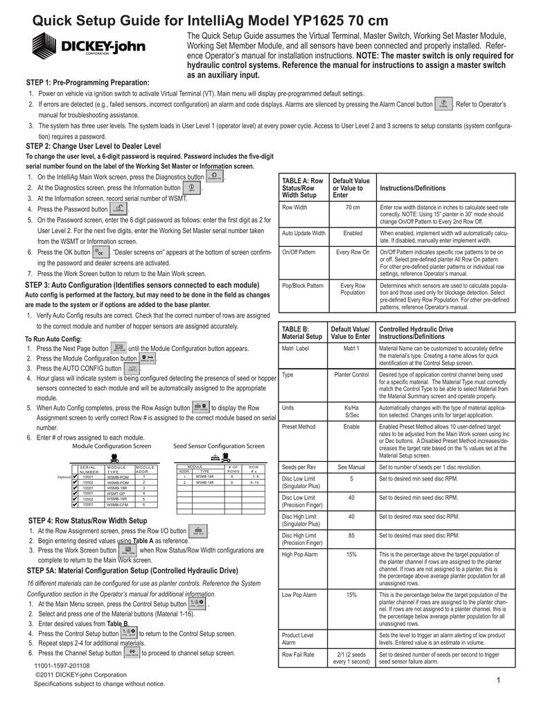 YP1625-1670 16 Row 70 cm: English: 11001-1597.pdf | Manualzz