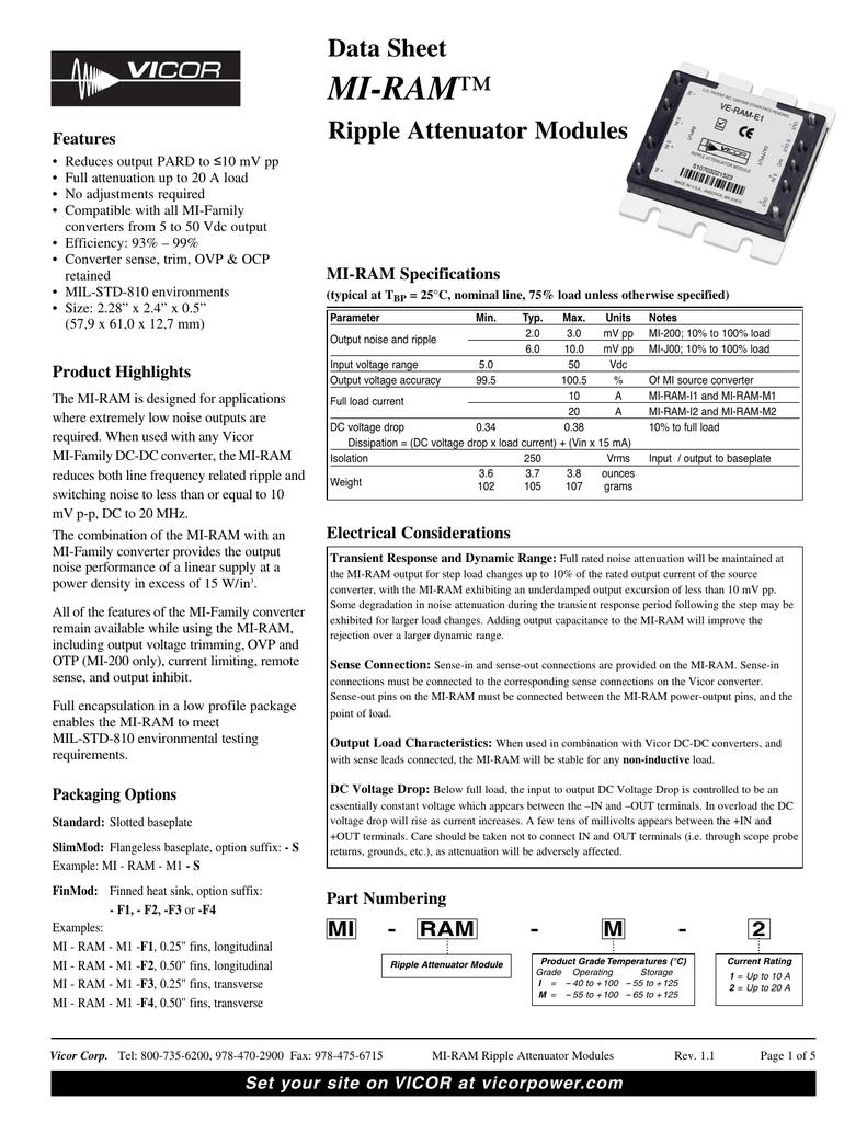 MI-RAM | manualzz com