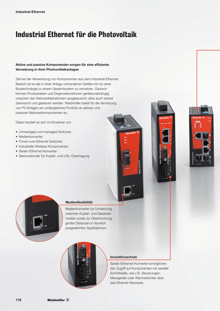 Industrial Ethernet für die PV.pdf   Manualzz