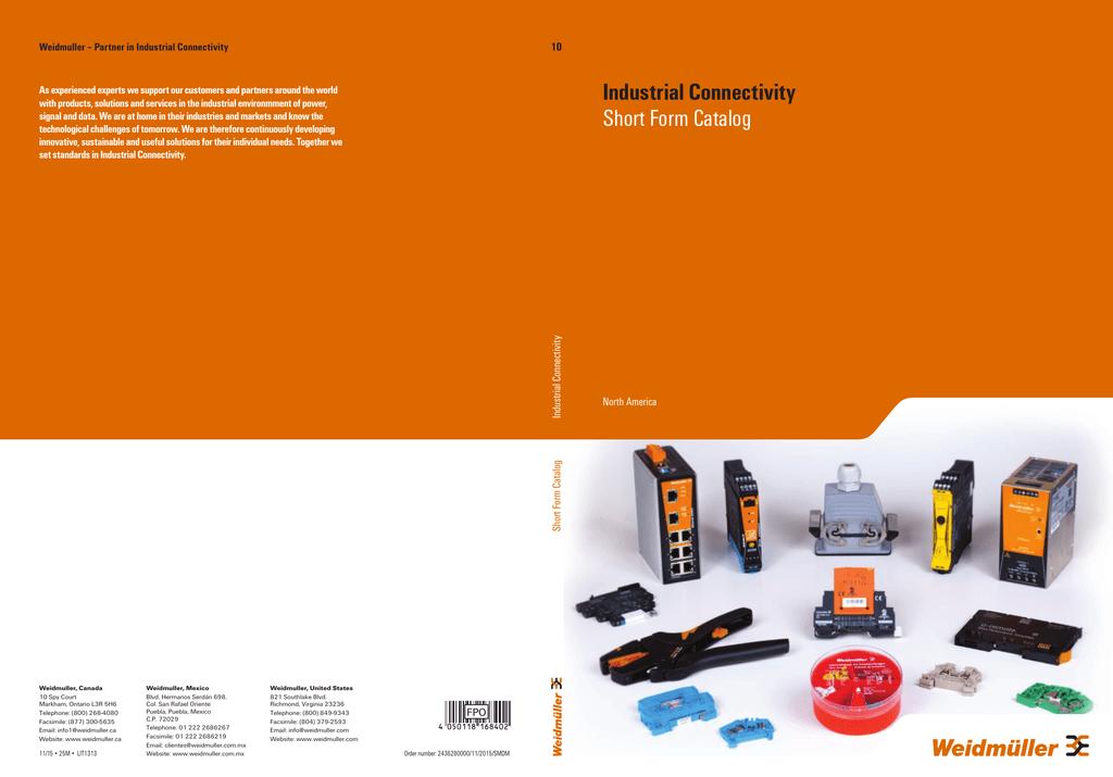 Weidmuller_Revised_Cat10_ShortForm_v8.pdf | Manualzz