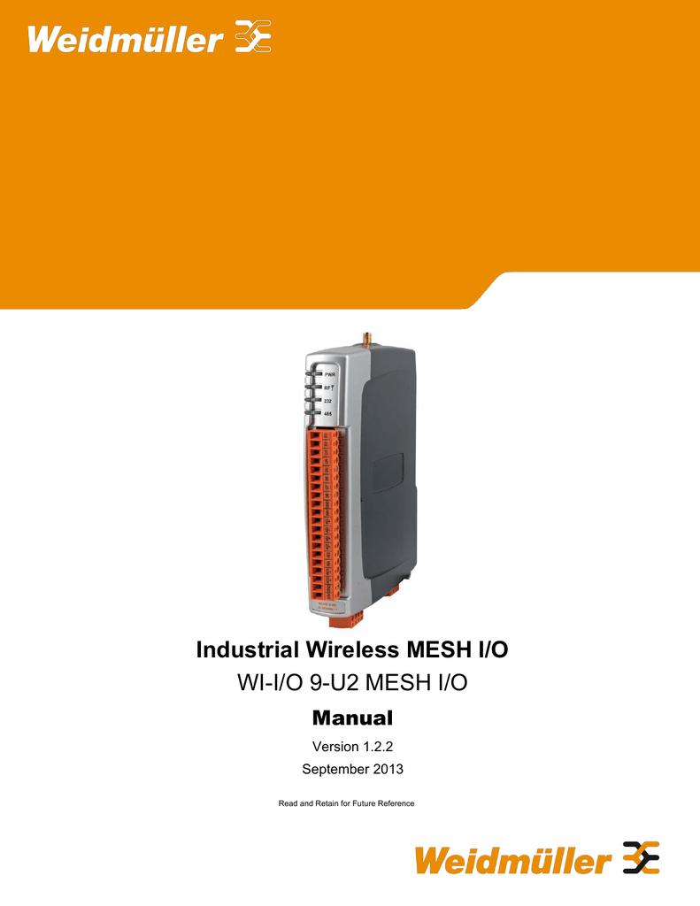 Manual WI-IO-9-U2, 6720005011, 6720005012.pdf | Manualzz