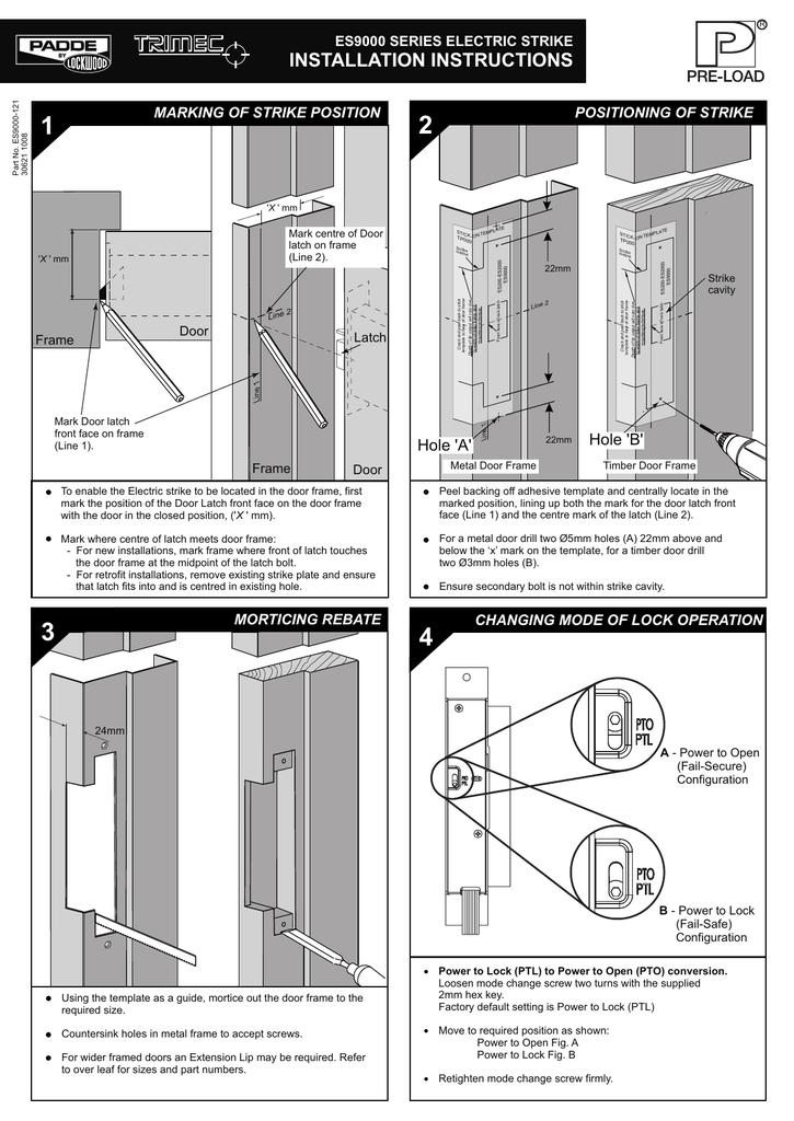 ES9000 Installation Instructions (, 347 kB) | manualzz com