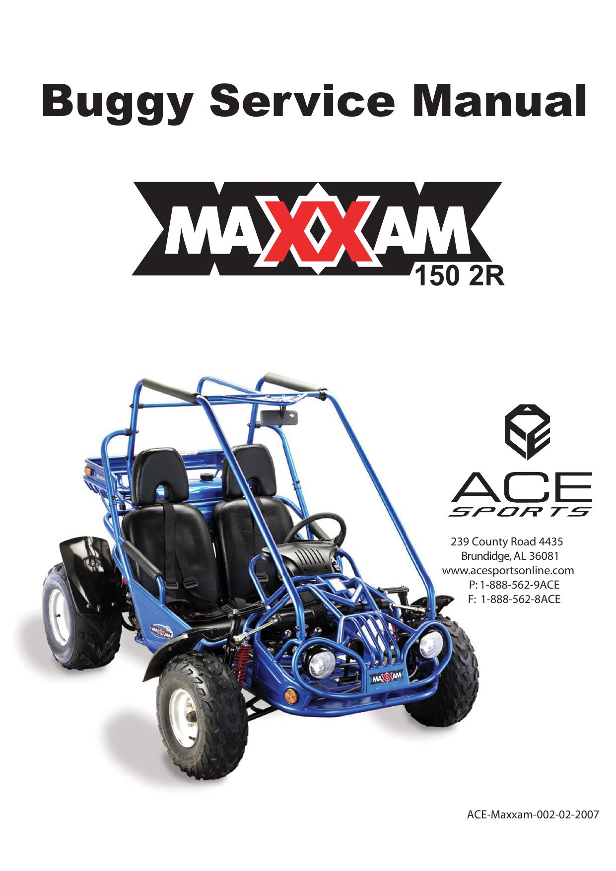 ACE Maxxam 150 2R Service Manual | manualzz.com on