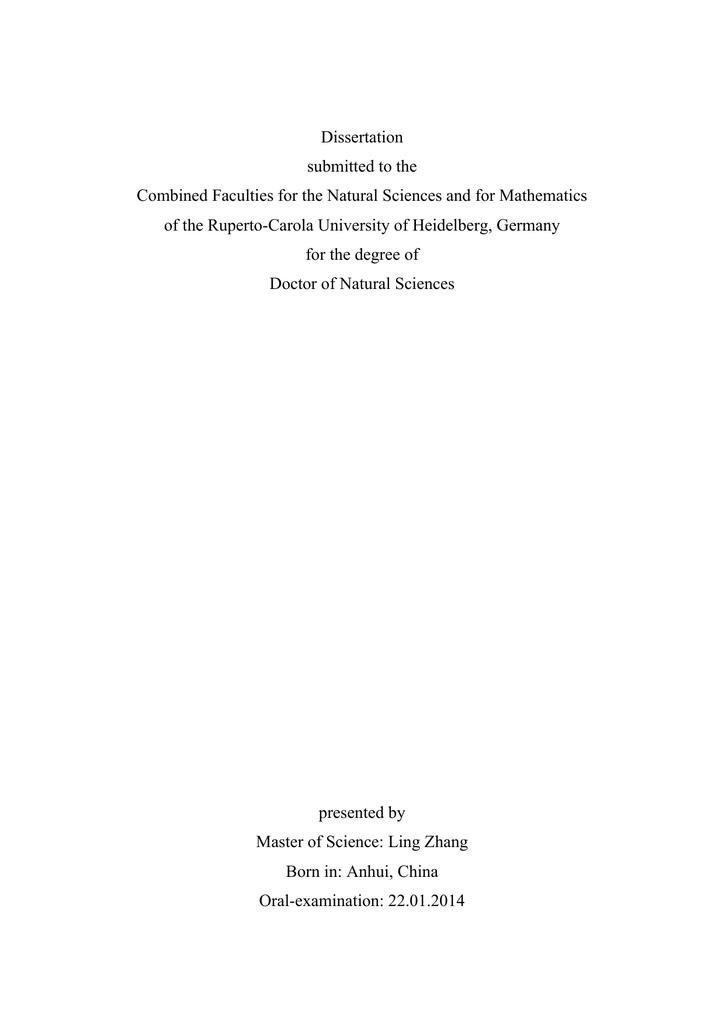 vanessa giese dissertation