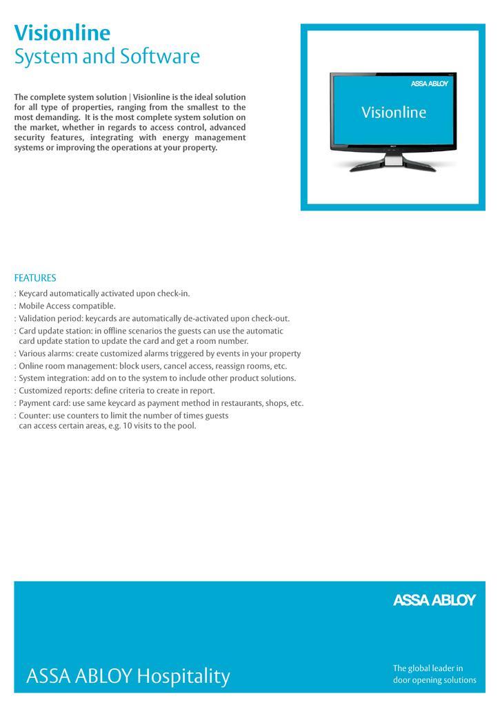 Visionline Product_Sheet_English_Dec15 (, 418 kB) | manualzz com