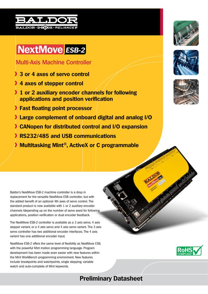 NextMove ESB-2 | manualzz com
