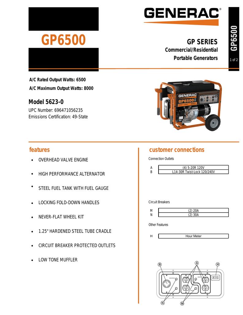GP6500 | manualzz com