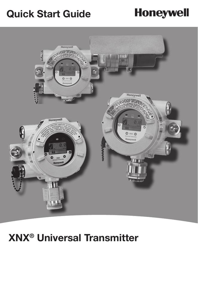 xnx universal transmitter honeywell