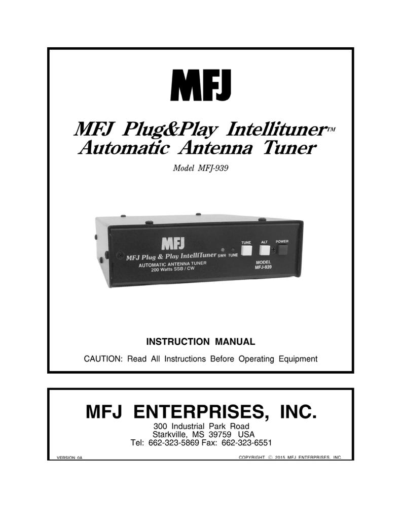 Mfj 5124k Wiring Diagram