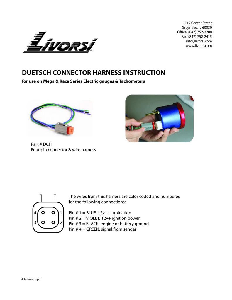 Pleasing Universal Livorsi Gauge Instructions Manualzz Com Wiring Digital Resources Bocepslowmaporg